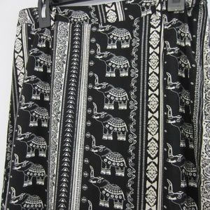 Coachella H&M Elephant Lightweight Maxi Skirt *W8